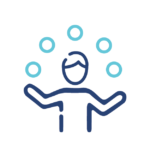 Icon to represent the variety of options presented when going through an insurance broker