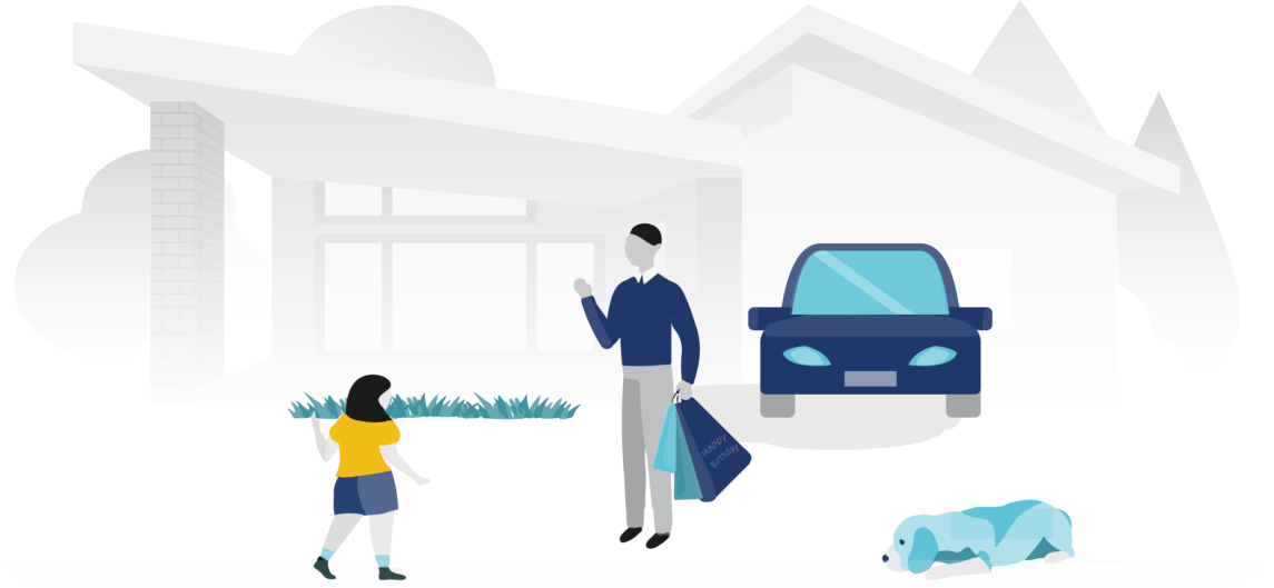 Graphic to showcase the personal insurance solutions from PROLINK