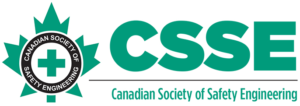 Graphic of CSSE Canadian Society of Safety Engineering logo