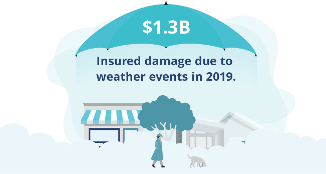 Why are insurance claims increasing?